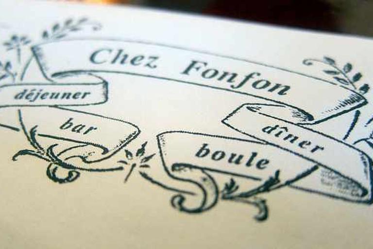 Chez Fonfon Logo