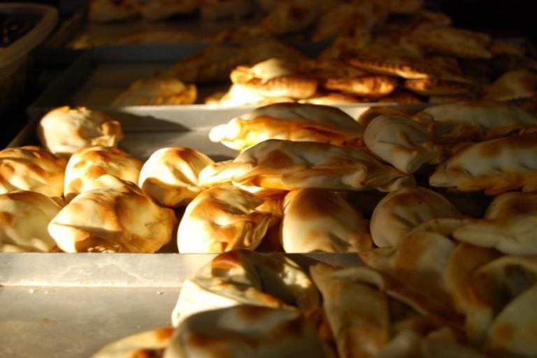 Hot empanadas