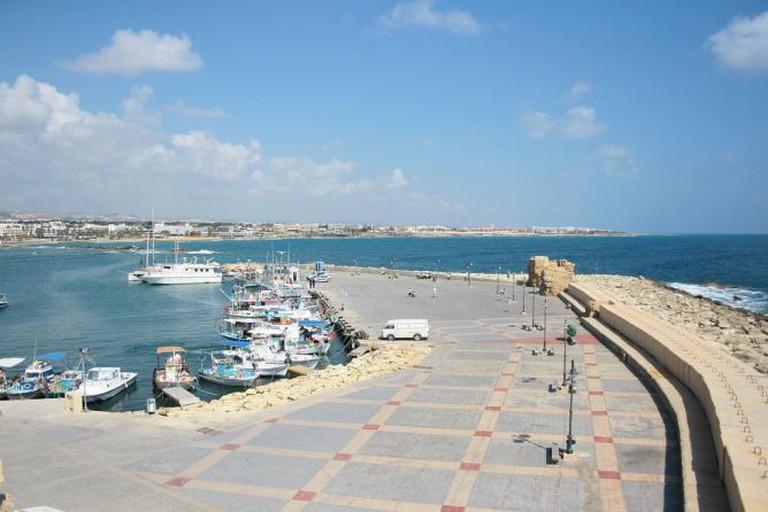 Paphos docks