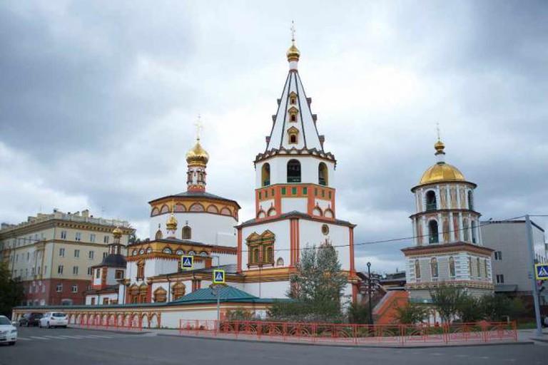 Epiphany Cathedral in Irkutsk