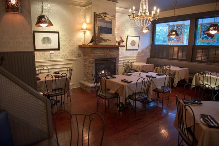 Manhattans' dining room