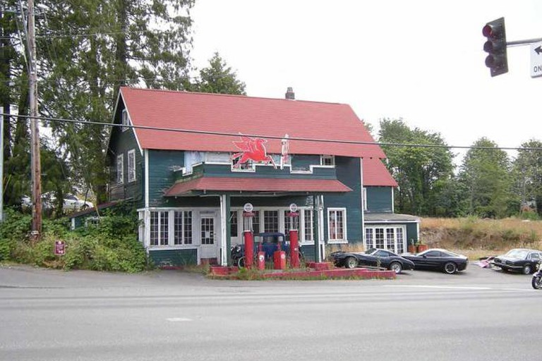 The historic Keeler's Korner in Lynnwood