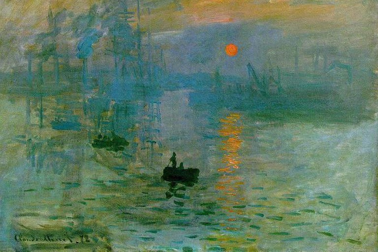 Impression, Soleil Levant, Claude Monet