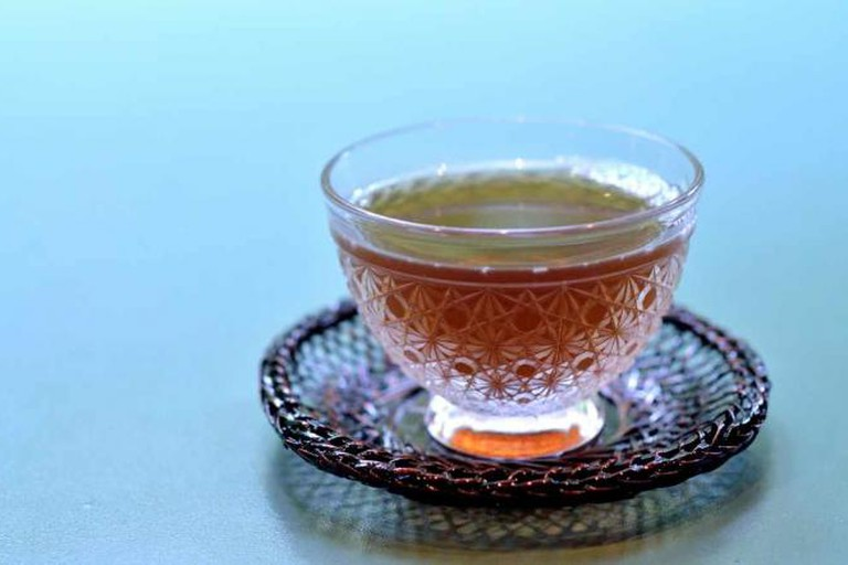 Delicate Japanese tea