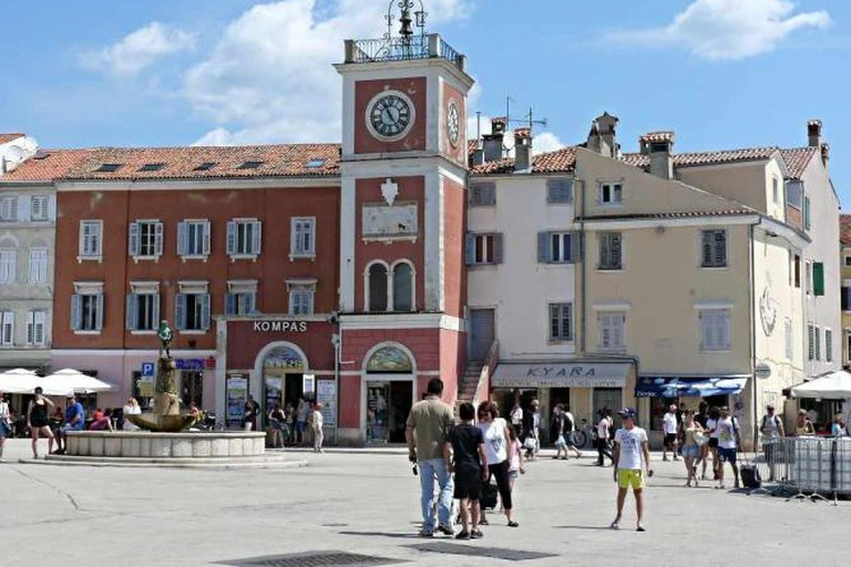 Piassa Granda is right off the main square in Rovinj.
