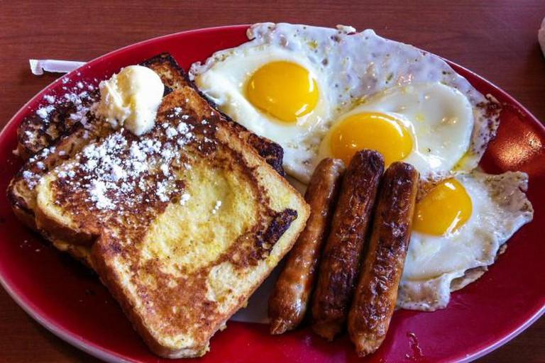 American 'Lumberjack' breakfast
