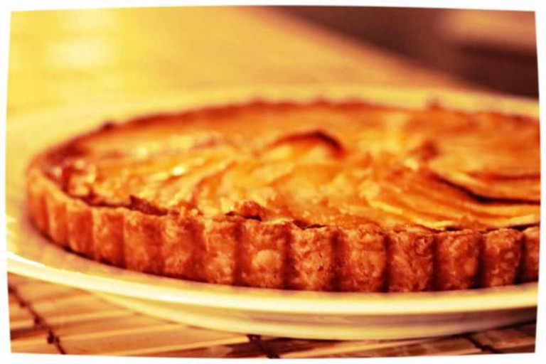 Julia Child Apple Tart