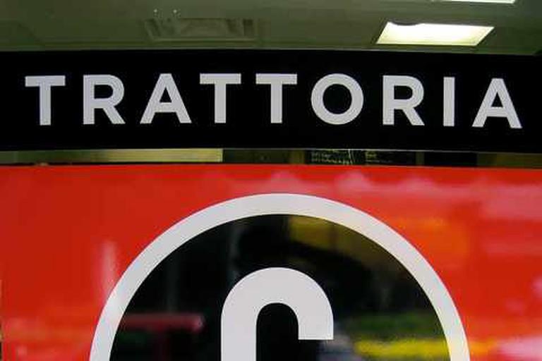 Trattoria Centrale's Sign