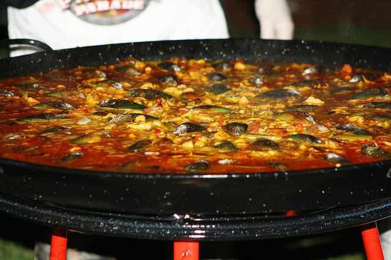 Paella at Casa Juancho