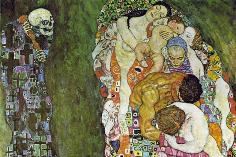 Medicine, Gustav Klimt