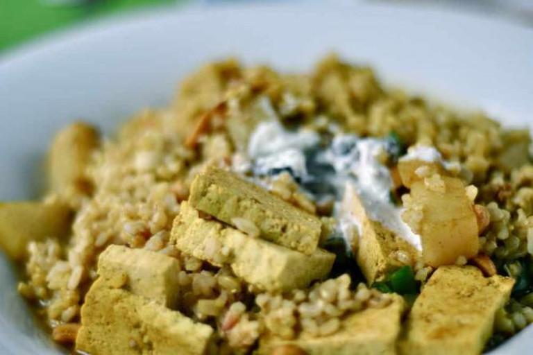 Tofu Curry at Natural Deli