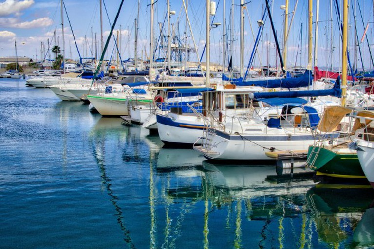Larnaca Marina, Cyprus