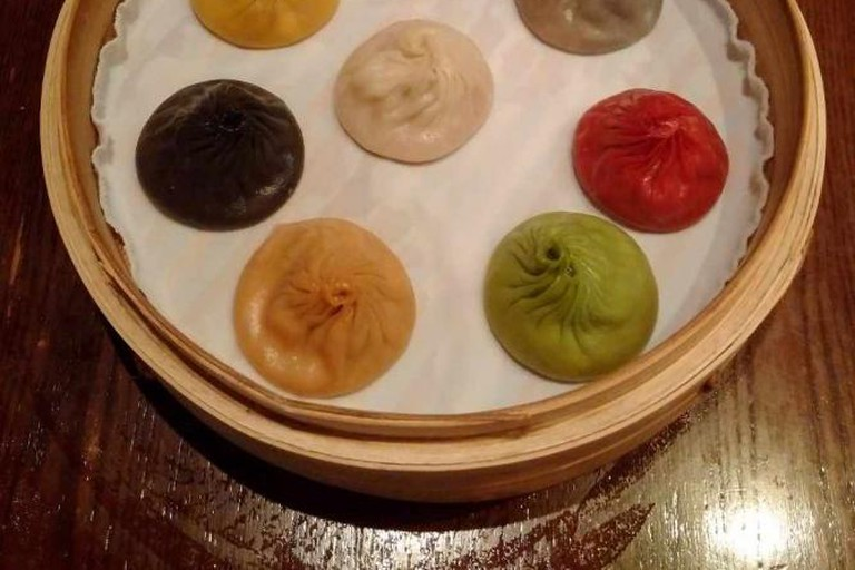 Xiao long bao at Paradise Dynasty