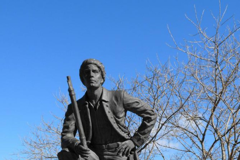 Timothy Demonbreun statue, Nashville