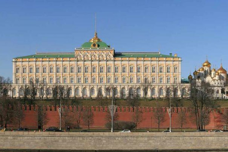 Moscow's Grand Kremlin Palaces