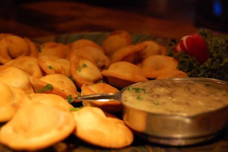 The Russian delicacy of pelmeni