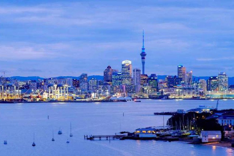 Auckland's beautiful harbour and city