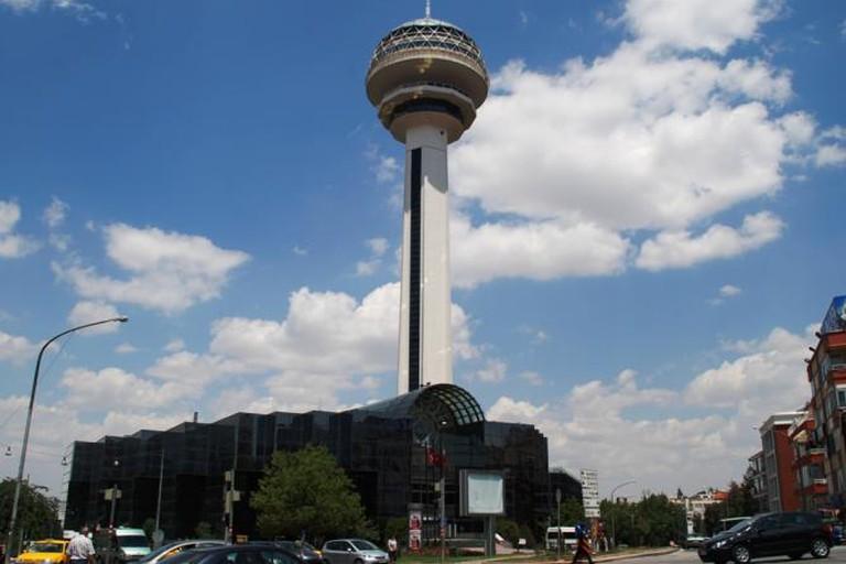 Atakule Tower in Ankara