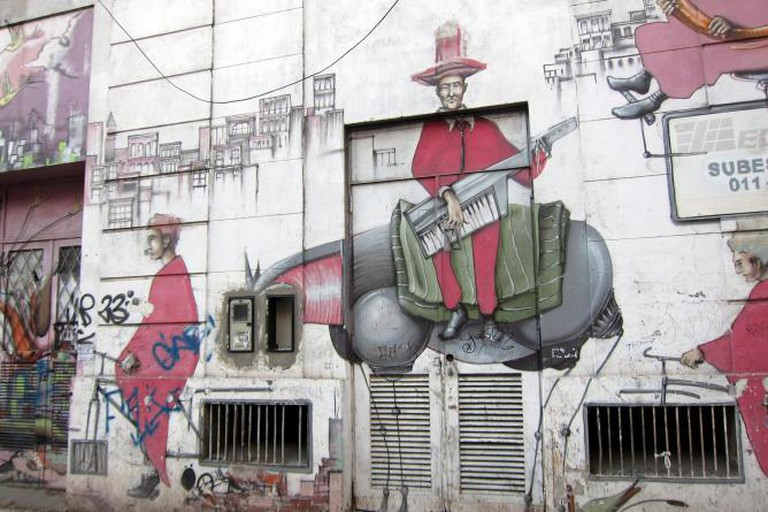 Almagro street art, Buenos Aires