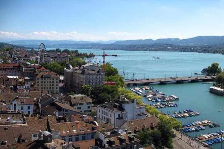View over Zürich