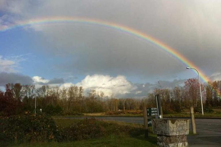Rainbow in Marysville