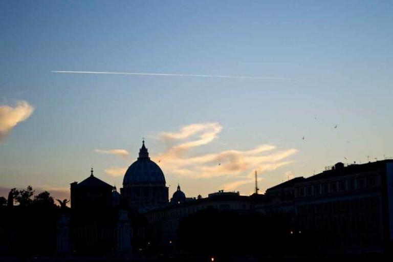Rome's stunning skyline