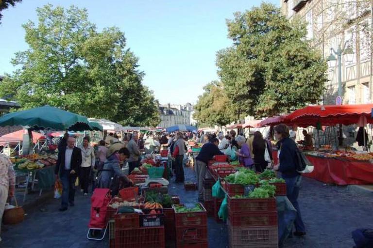Rennes market