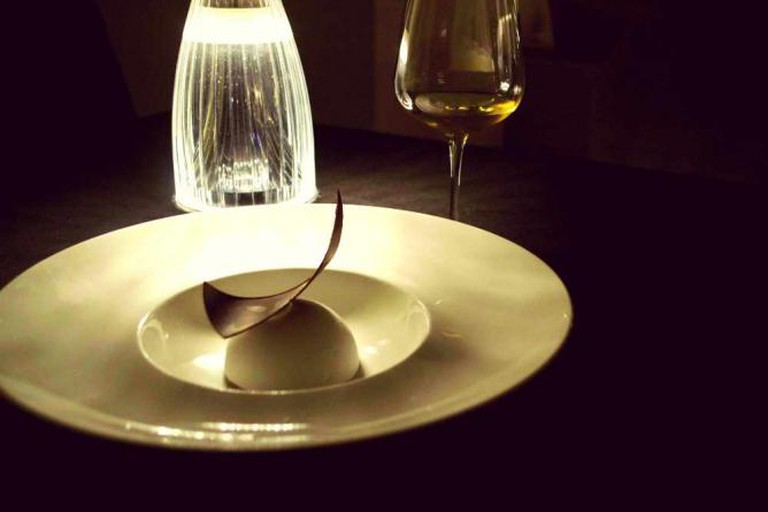 A heavenly chocolate tiramisu from Ristorante All'Oro