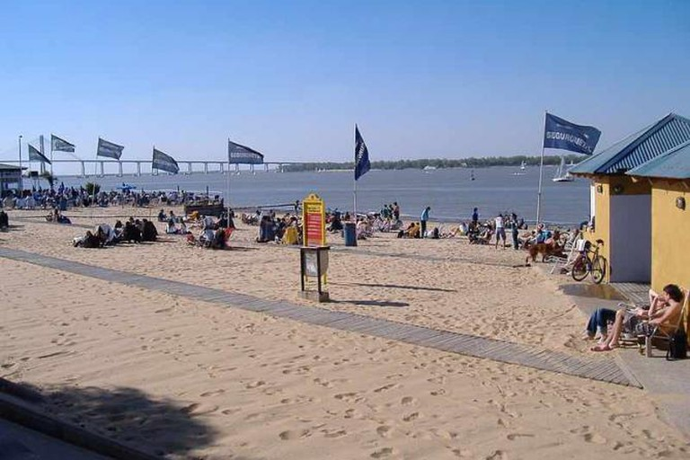 The beach in north-eastern Rosario