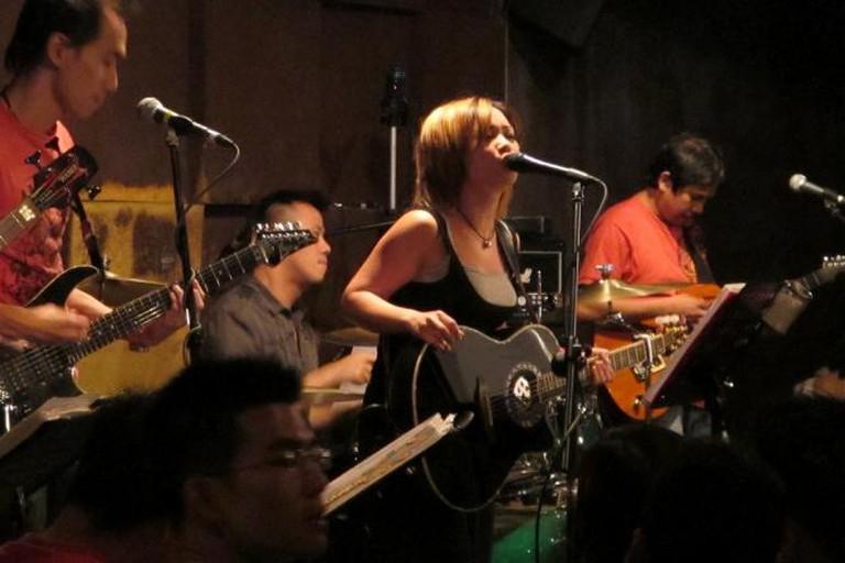 Band performing at Wala Wala Cafe Bar