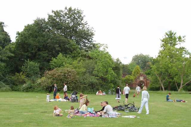 A Creative Commons Image: Fulham Palace Lawn