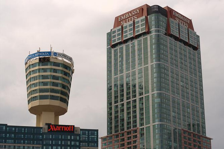 Hotel Towers (Tower Hotel on left)