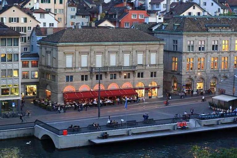 Café in Zürich