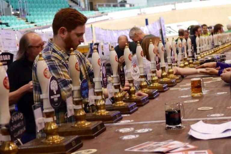 Self-service beer pumps