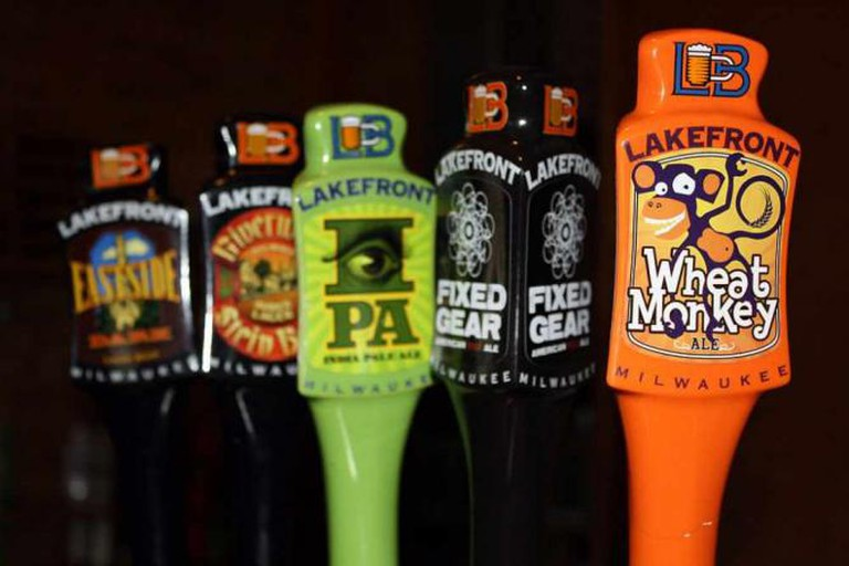 A Day at the Brewery, Lakefront Brewery Taps
