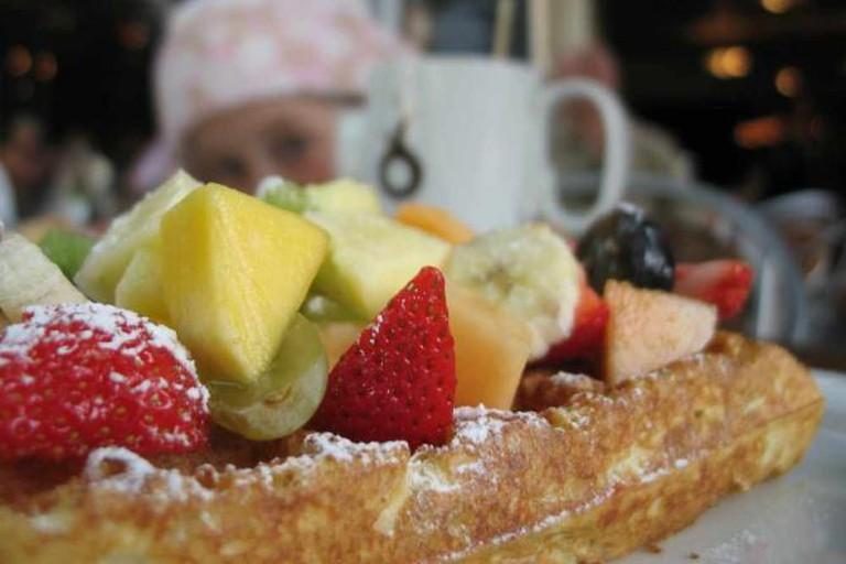 Fruity Belgian Waffle