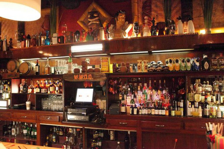 Bar at Porco Lounge & Tiki Room