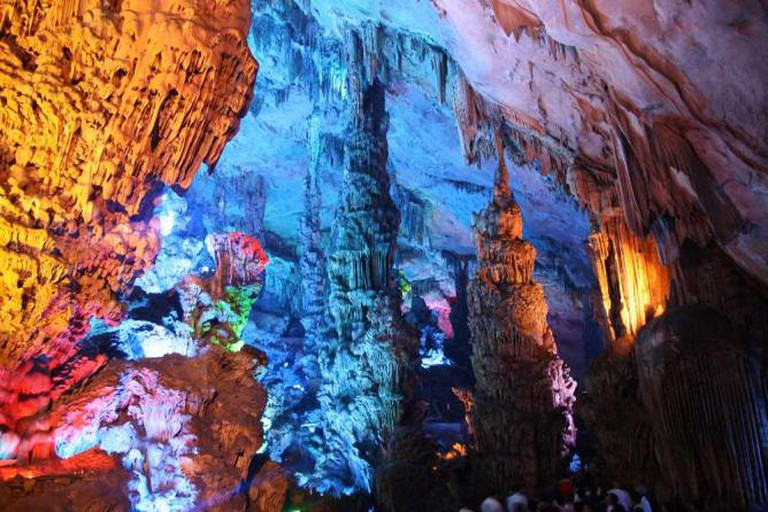 Reed Flute Cave in Guangxi