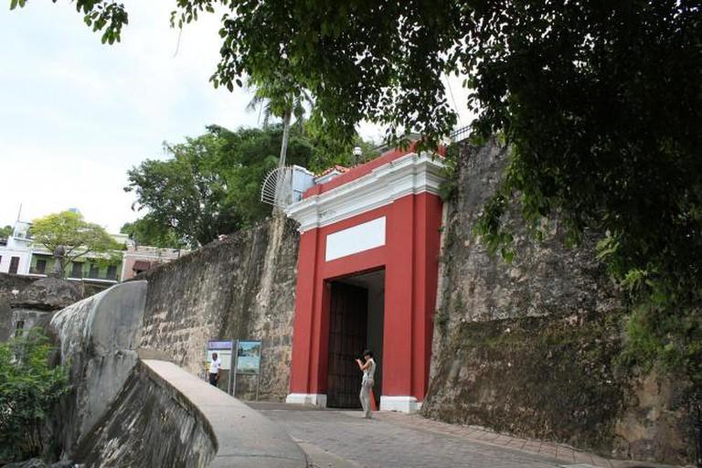 The San Juan Gate
