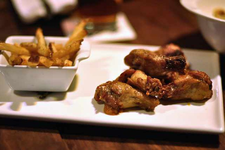 Confit Fried Chicken Wings