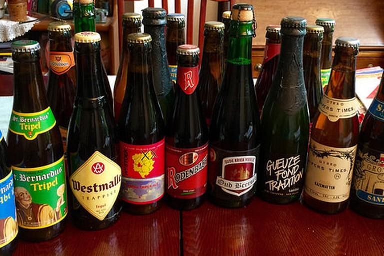 Some Belgian Beers