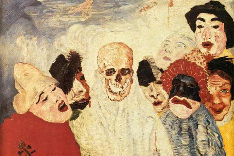 James Ensor painting