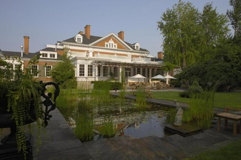 Langdon Hall and Lily Pond