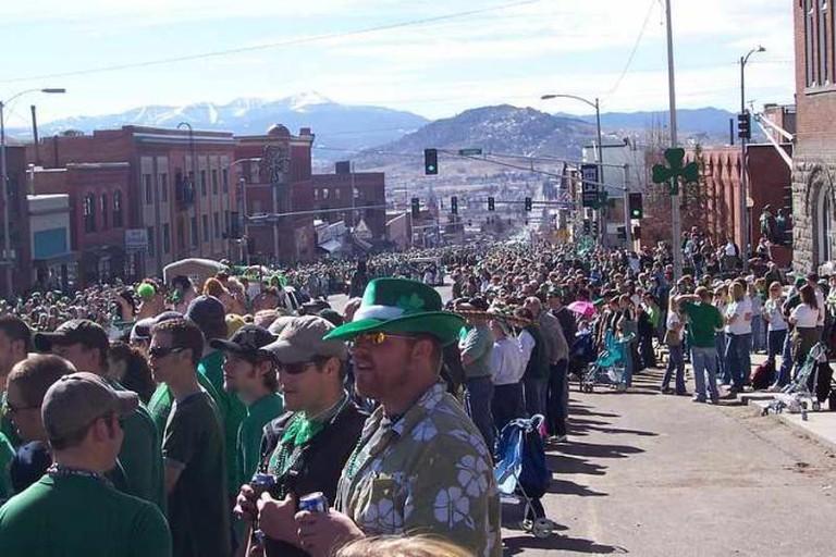 Saint Patrick's Day, Butte