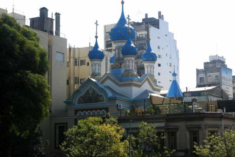 Russian Orthodox Church, Parque Lezama