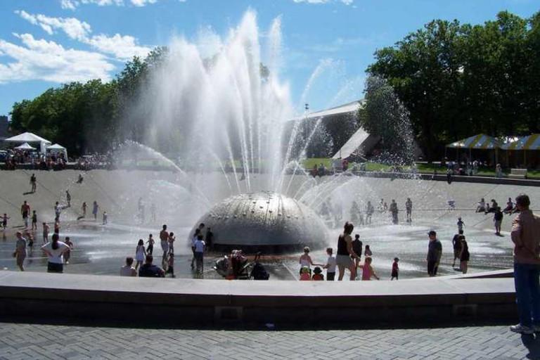 International Fountain at Seattle Center