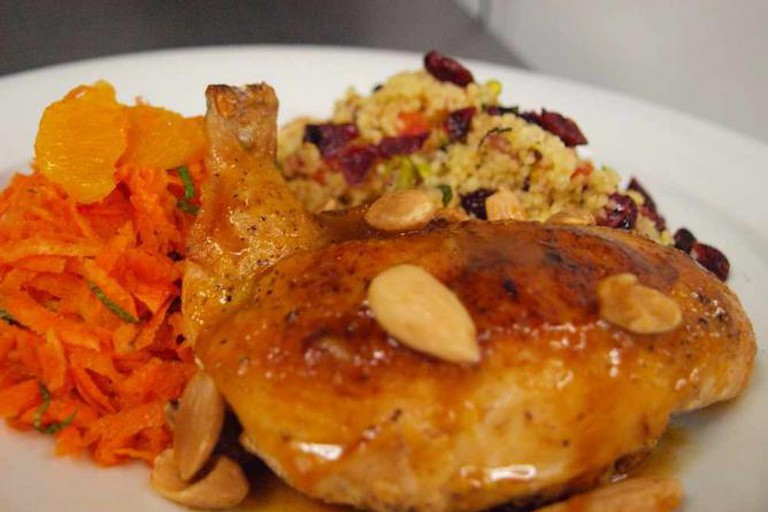 Chicken, quinoa and carrots