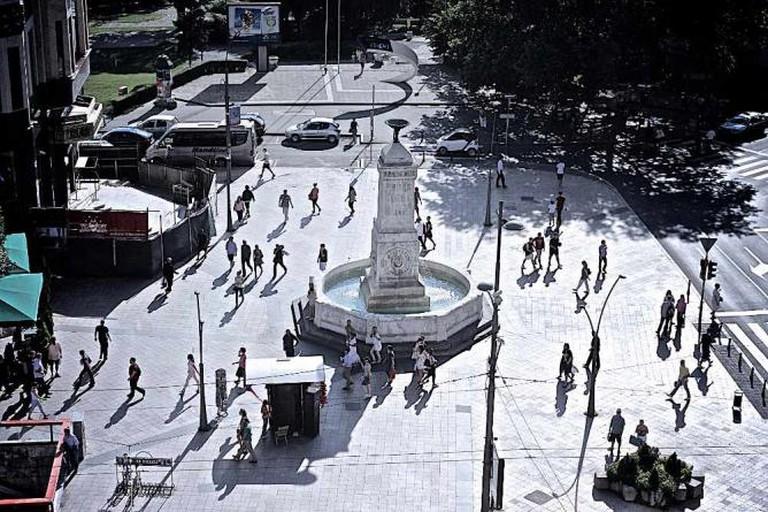 Terazije Fountain