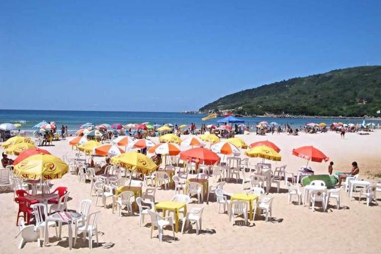 Vereda Tropical, Praia da Barra da Lagoa