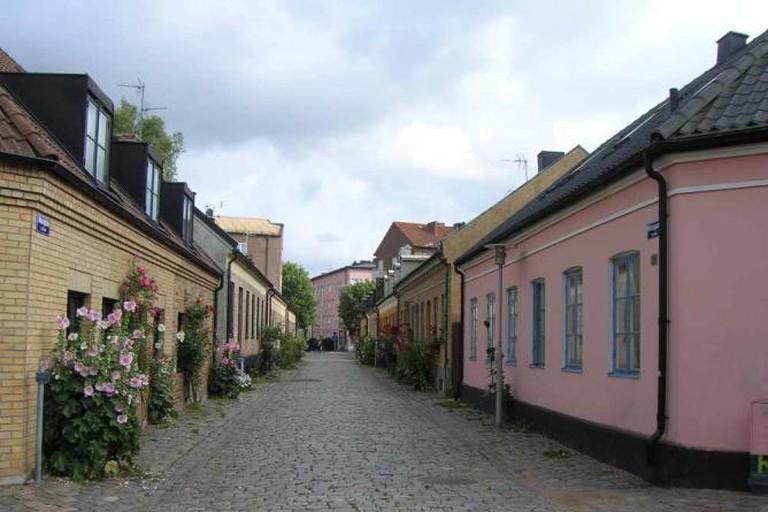 Mariagatan in Nöden in Lund